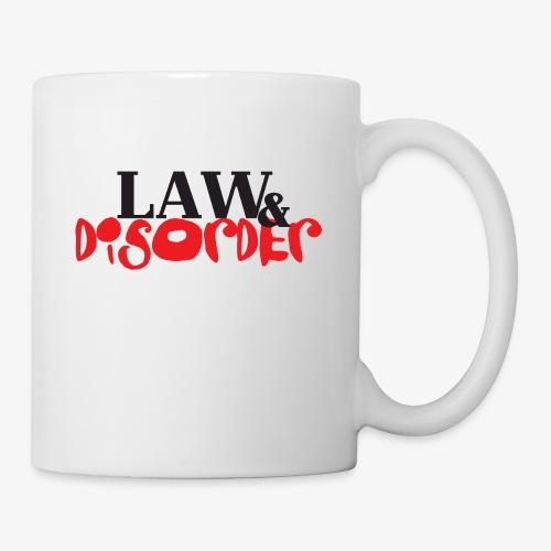 Law DISORDER Logo - Coffee/Tea Mug