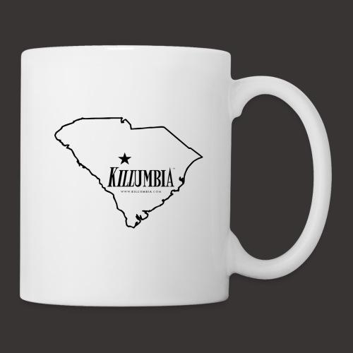 Killumbia Map (Black) - Coffee/Tea Mug