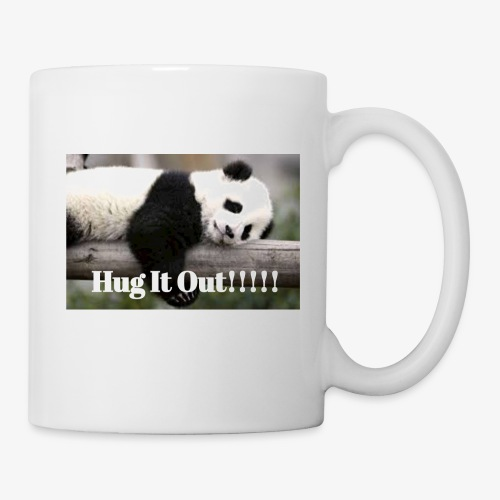 Hug It out Panda Merch - Coffee/Tea Mug