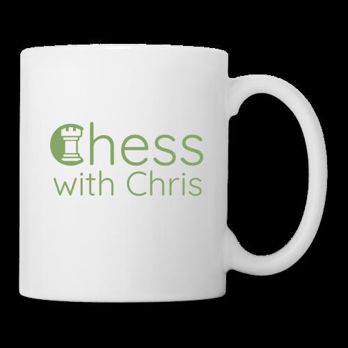 Chess With Chris Logo - Coffee/Tea Mug