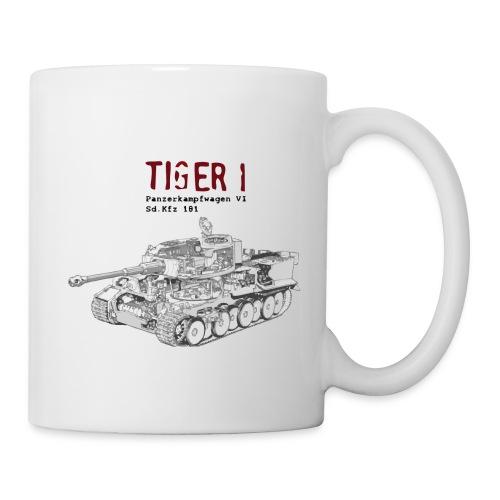 Tiger 1 Panzerkampfwagen VI Tank - Coffee/Tea Mug