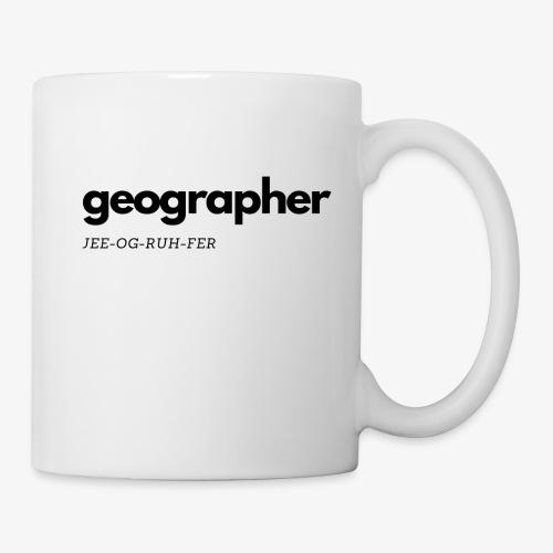 JEE-OG-RUH-FER - Coffee/Tea Mug