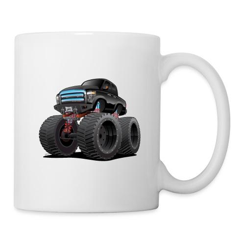 Monster Pickup Truck Cartoon - Coffee/Tea Mug