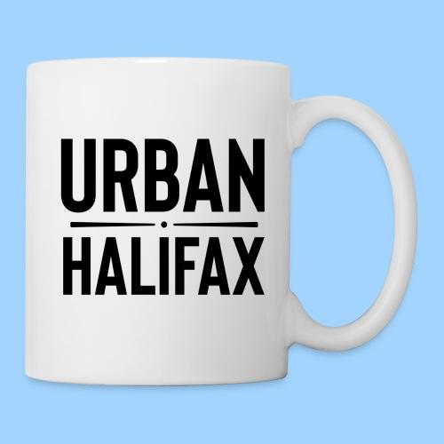 Urban Halifax logo (Black) - Coffee/Tea Mug