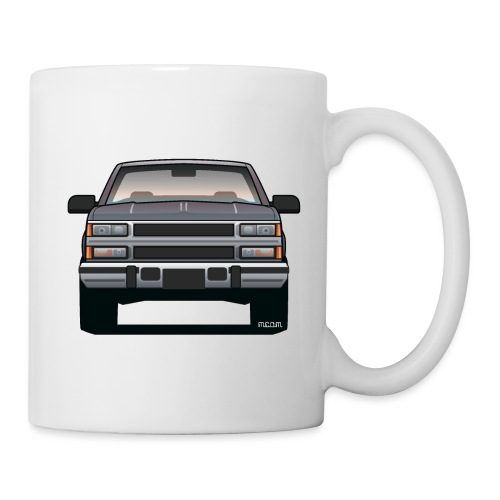 Design Icon: American Bowtie Silver Urban Truck - Coffee/Tea Mug