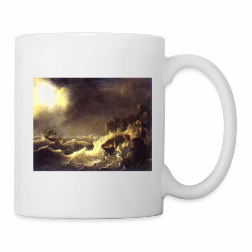 vessel in storm sp 01 - Coffee/Tea Mug