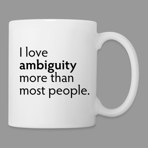 Ambiguity - Coffee/Tea Mug