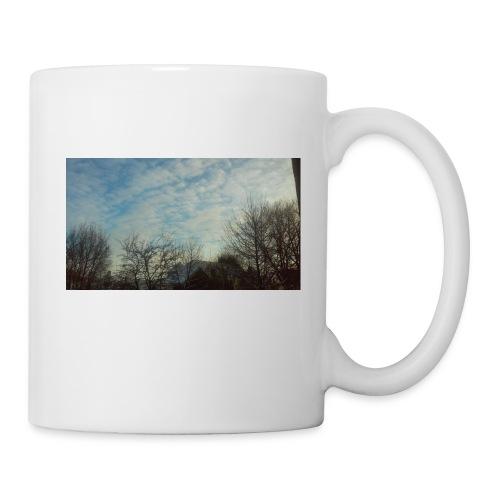 jersery winter sky - Coffee/Tea Mug