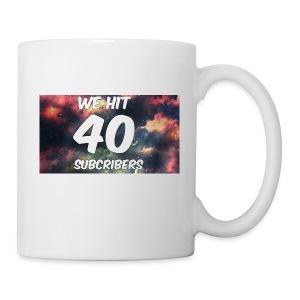 Lankydiscmaster's 40 subs shirt and more - Coffee/Tea Mug