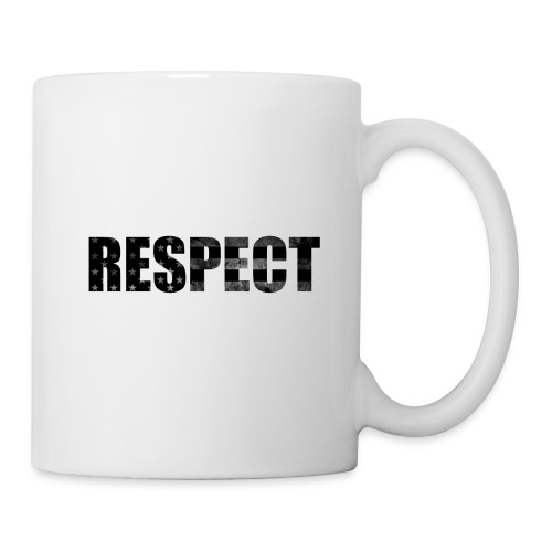 Respect Black and White flag - Coffee/Tea Mug