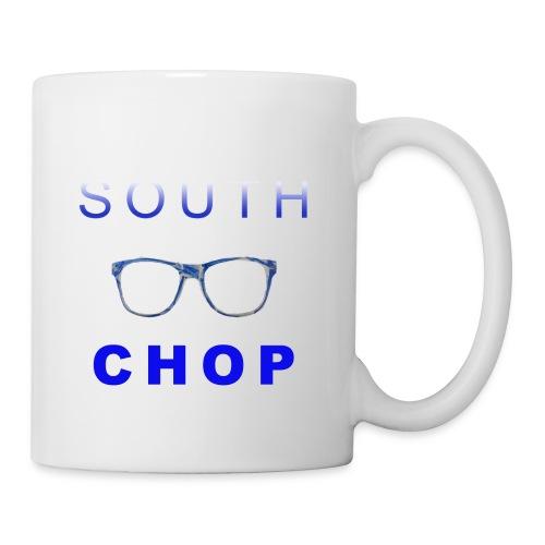 Glasses logo with text - Coffee/Tea Mug