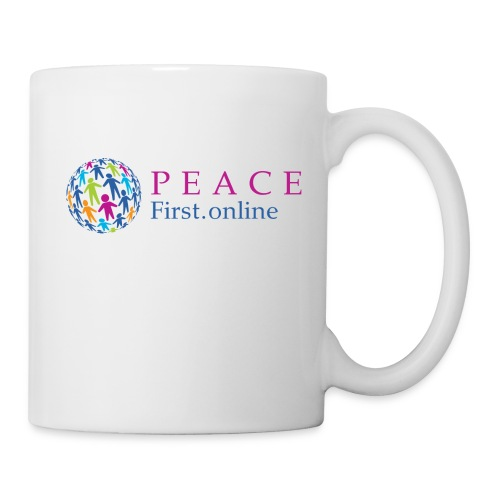 LogoPeaceFirst - Coffee/Tea Mug