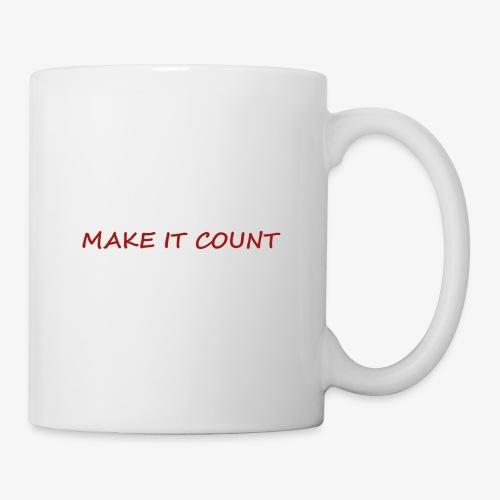 MAKE IT COUNT - Coffee/Tea Mug