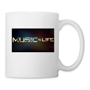Music quote t-shirt - Coffee/Tea Mug
