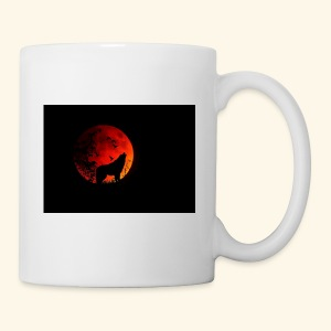 full moon Wolf Mug - Coffee/Tea Mug