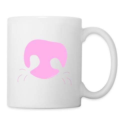 Pink Whimsical Dog Nose - Coffee/Tea Mug