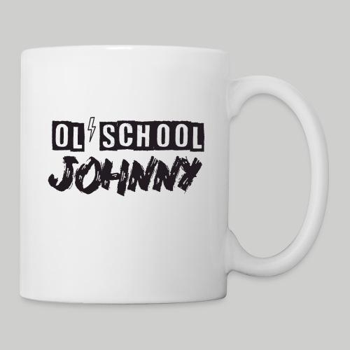 Ol' School Johnny Logo - Black Text - Coffee/Tea Mug