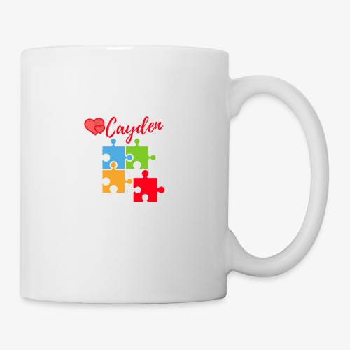 Cayden Autism Awareness Thank You - Coffee/Tea Mug