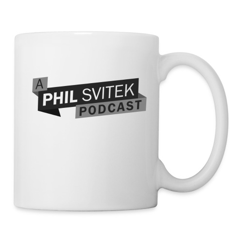 A Phil Svitek Podcast Logo ONLY Design - Coffee/Tea Mug