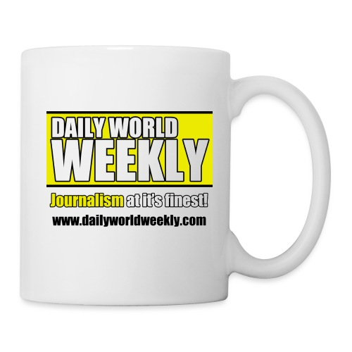 daily world weekly banner tagline web addy - Coffee/Tea Mug