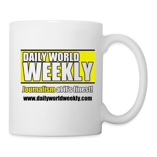 daily world weekly banner tagline web addy - Coffee/Tea Mug