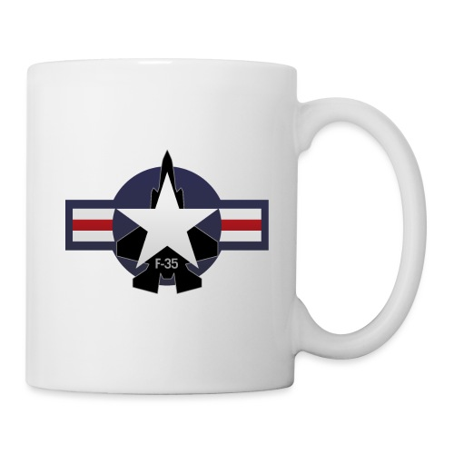 F-35 Lightning II Military Jet Fighter Aircraft - Coffee/Tea Mug