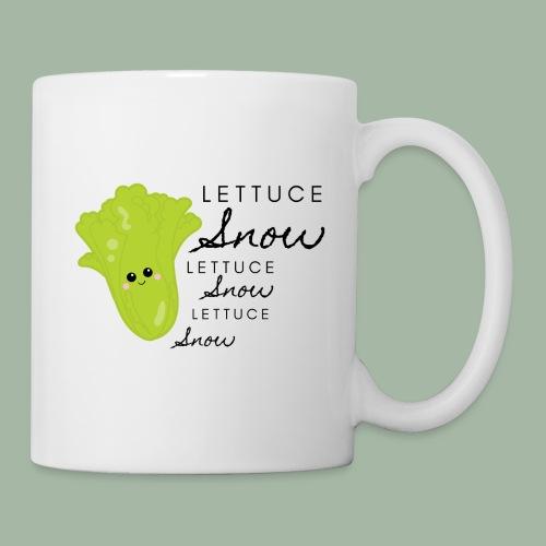Lettuce Snow - Coffee/Tea Mug