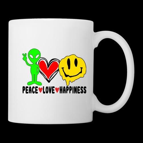 Peace Love Happpiness - Coffee/Tea Mug