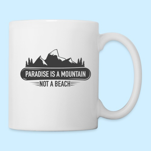MOUNTAIN PARADISE - Coffee/Tea Mug
