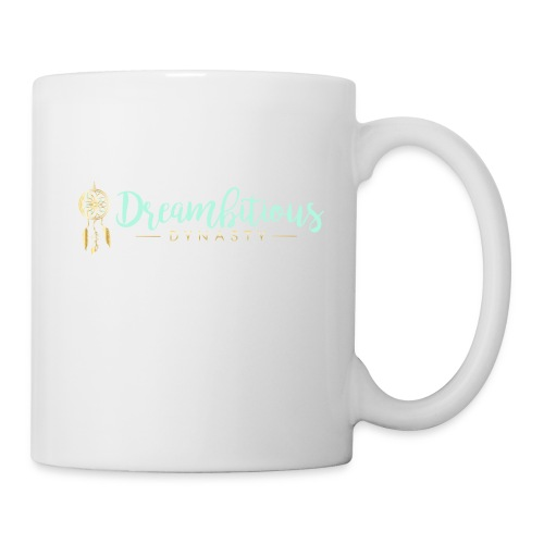 Dreambitious-Dynasty-Logo-MintGold_-1- - Coffee/Tea Mug