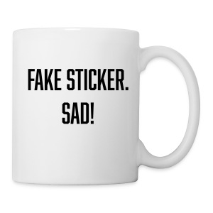 fake sticker - Coffee/Tea Mug