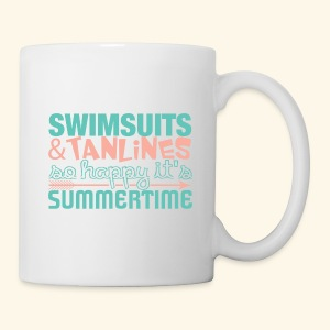 Swimsuits and Tanlines - Coffee/Tea Mug