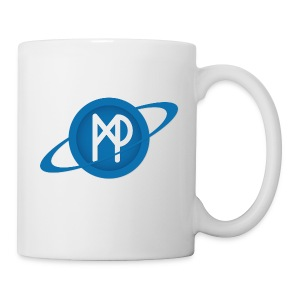 Mining Planet Logo PLANET transparent - Coffee/Tea Mug