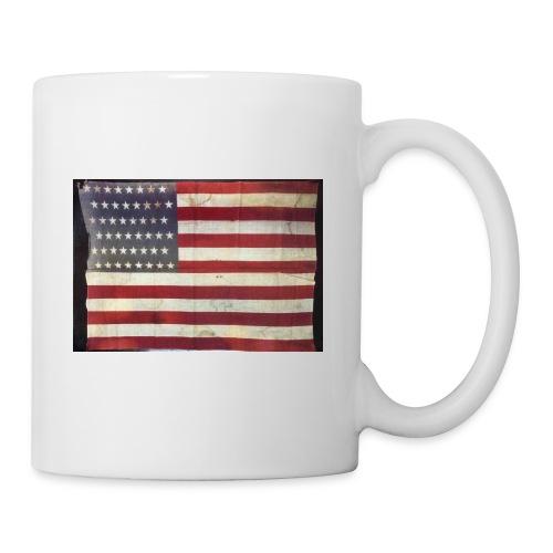 Distressed American Flag - Coffee/Tea Mug