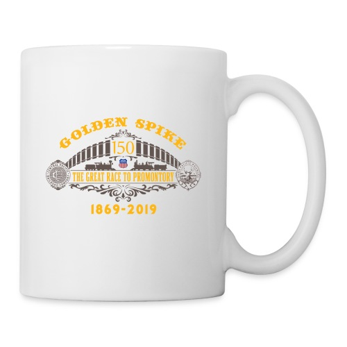Golden Spike Color UP Logo - Coffee/Tea Mug