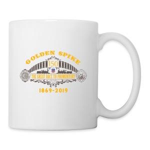 Golden Spike Color UP Logo - Coffee/Tea Mug