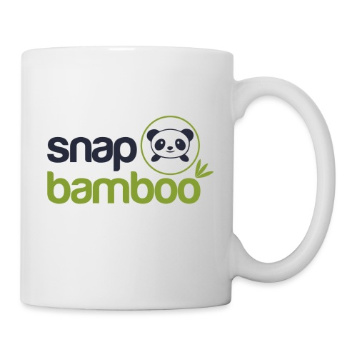 Snap Bamboo Square Logo Branded - Coffee/Tea Mug