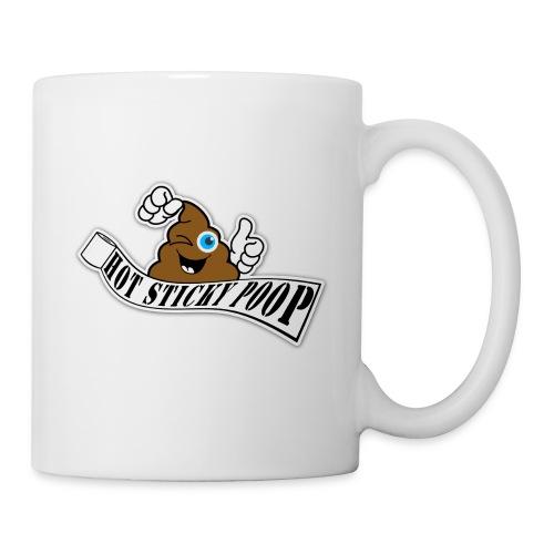 Hot Sticky Poop Banner Logo - Coffee/Tea Mug