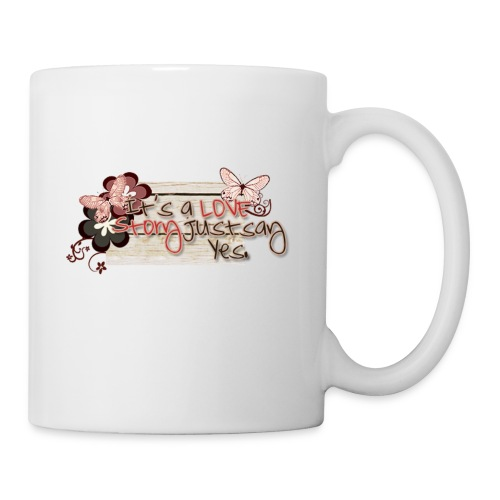 It's a love story just say yes - Coffee/Tea Mug