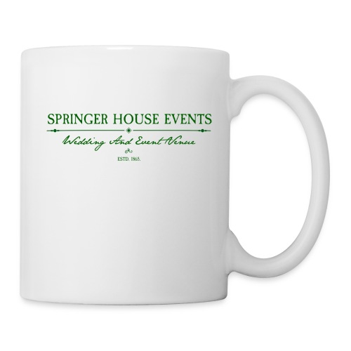 Springer House Events Sign Green - Coffee/Tea Mug