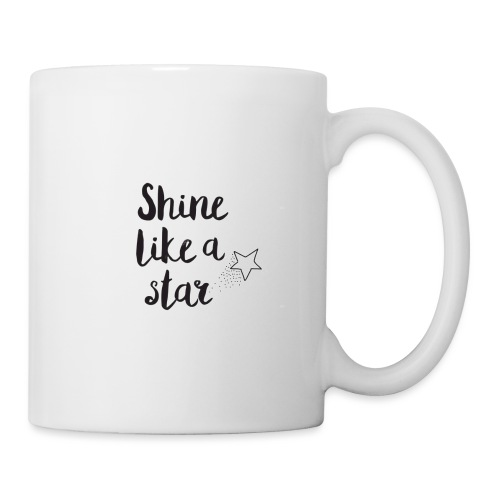 shine like a star - Coffee/Tea Mug