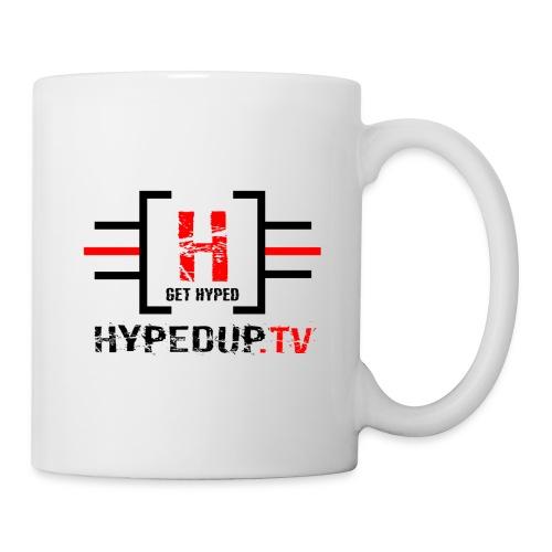HypedUpTV - Black/Red - Coffee/Tea Mug