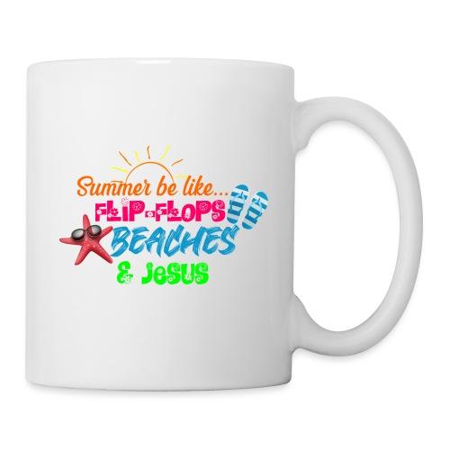 Flip Flops, Beaches, & Jesus - Coffee/Tea Mug
