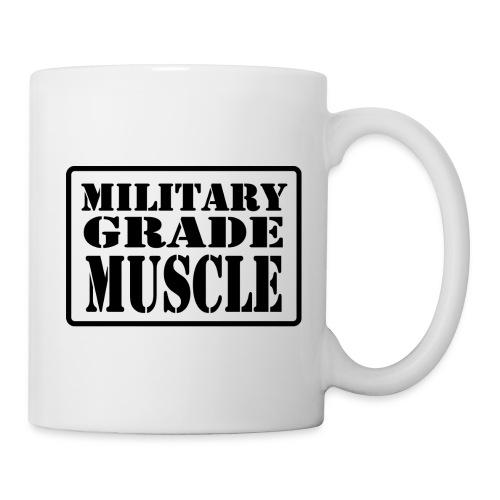 Military Grade Muscle Black - Coffee/Tea Mug