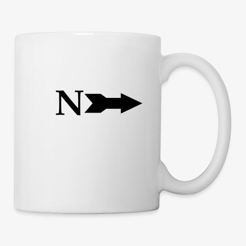 Narrow Logo Black - Coffee/Tea Mug