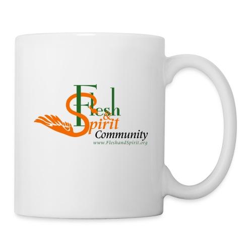 Flesh and Spirit Community T-Shirt - Coffee/Tea Mug