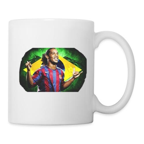 Ronaldinho Brazil/Barca print - Coffee/Tea Mug