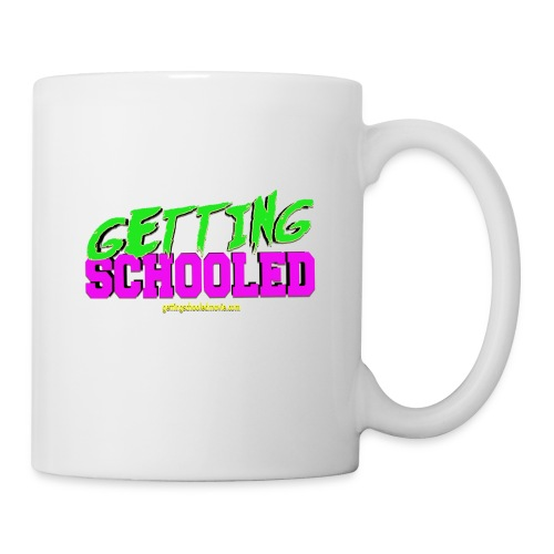 Getting Schooled Neon Title - Coffee/Tea Mug