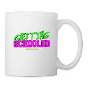 Getting Schooled Neon Title - Coffee/Tea Mug