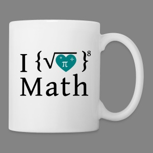 I love math - Coffee/Tea Mug